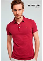 Catalogues et collections Burton : Collection Polos & T-Shirts  Homme