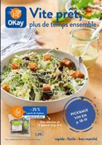 Prospectus OKay Supermarchés OHEY : Vite prêt, plus de temps ensemble