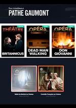 Prospectus Gaumont Pathé! : Actuellement au cinéma