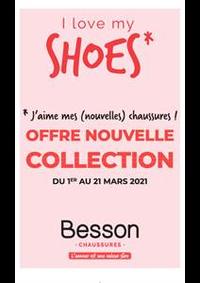 Prospectus Besson Anthy sur Leman : I love my shoes