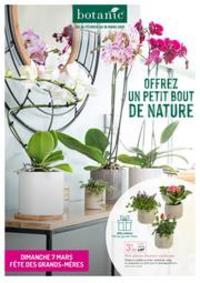 Prospectus botanic Thonon-les-Bains : Offrez un petit bout de nature