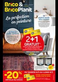 Prospectus Brico Plan-it Charleroi : La perfection en peinture
