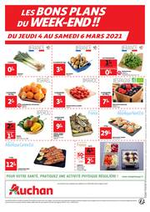 Prospectus Auchan : Les bons plans du week-end