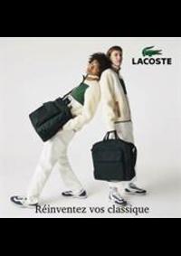 Prospectus Lacoste Angers : Reinventez vos classiques