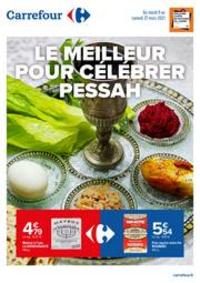 Prospectus Carrefour Paris - Auteuil : Le meilleur pour célébrer Pessah