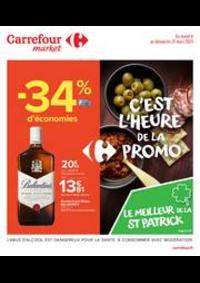 Prospectus Carrefour Market CACHAN : C'est l'heure de la promo