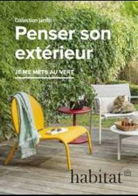 Prospectus Habitat Le Chesnay : Penser son extérieur