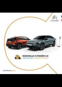 Prospectus Citroen AUBERVILLIERS : Citroën C4