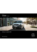 Prospectus Mercedes Benz : Citan