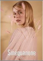 Catalogues et collections Sinequanone : Printemps  Été 2021
