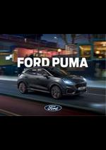 Promos et remises  : Ford Puma