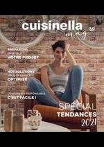 Prospectus cuisinella : Spécial Tendances 2021