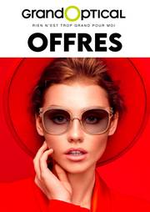 Prospectus Grand Optical : Offres Grand Optical