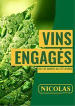 Prospectus Nicolas : Catalogue