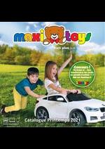Prospectus Maxi Toys : Catalogue printemps 2021 bien plus que du jouet