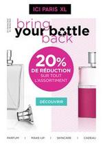 Prospectus Ici Paris XL : Bring your bottle back