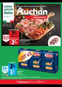 Prospectus Auchan Semécourt Metz : Italia !
