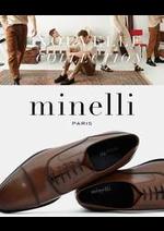 Catalogues et collections Minelli : Nouveautés Chaussures Homme
