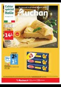 Prospectus Auchan Plaisir : L'Italie s'invite à votre table !