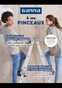 Prospectus GAMMA UCCLE : Magazine de peinture