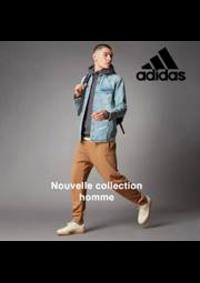 Prospectus Adidas Créteil : Nouvelle collection homme