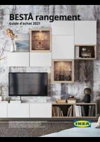 Prospectus IKEA PARIS - VILLIERS-SUR-MARNE : Guide d'achat 2021 - BESTÅ rangement