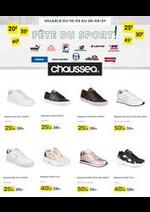Prospectus Chaussea : Fête du sport !