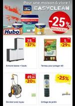 Prospectus Hubo : Profitez en ce moment de 25% de réduction sur l'assortiment