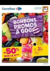 Prospectus Carrefour AULNAY SOUS BOIS : Bonbons & Promos à Gogo
