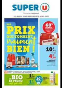 Prospectus Super U PARIS - AV. CLICHY : DES PRIX QUI TOMBENT VRAIMENT BIEN !