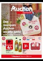 Prospectus Auchan Supermarché : Les promos Auchan