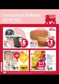 Prospectus Supermarché Delhaize Wavre : Folder Delhaize