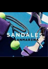 Prospectus San Marina Moisselles : Sandales