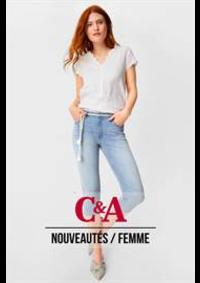Catalogues et collections C&A MIDDELKERKE : Nouveautés  Femme