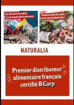 Prospectus Naturalia : Toujours plus de choix avec nos produits bio !