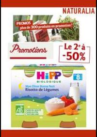 Prospectus Naturalia PARIS 72-74 avenue du Général Michel Bizot : Le 2e à -50%