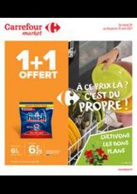 Prospectus Carrefour Market NANTERRE : À ce prix là ? C'est du propre !