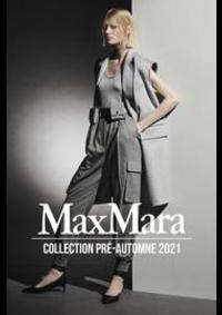 Prospectus Max Mara Paris 16 : Collection Pré-Automne 2021