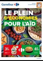Prospectus Carrefour : Le plein d'économies pour l'Aid