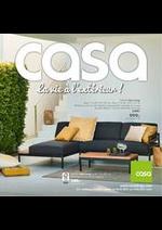 Prospectus Casa : La vie à l 'extérieur !