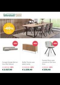 Promos et remises Overstock Home Braine l'Alleud : Jusqu'a -40% sur chaises