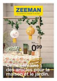Prospectus Zeeman Chelles : Cette Semaine Des Articles Pour La Maison Et Le Jardin.