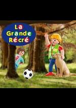 Prospectus La grande Récré : 1 Spécial plus offert dès 30€ d'achat playmobil