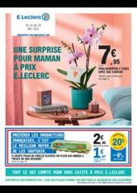 Prospectus E.Leclerc LE BLANC MESNIL : UNE SURPRISE POUR MAMAN À PRIX E.LECLERC
