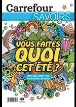 Prospectus Carrefour : Vous faites quoi cet été ?