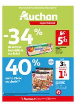 Prospectus Auchan : Du bio à tous les rayons !