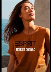Prospectus Esprit Maisières : Noir et cognac