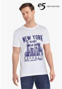 Prospectus e5 DENDERLEEUW : Statement T-shirts
