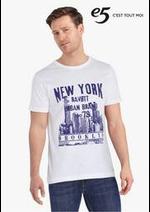 Prospectus e5 Mode : Statement T-shirts