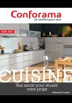 Prospectus Conforama : guide cuisine